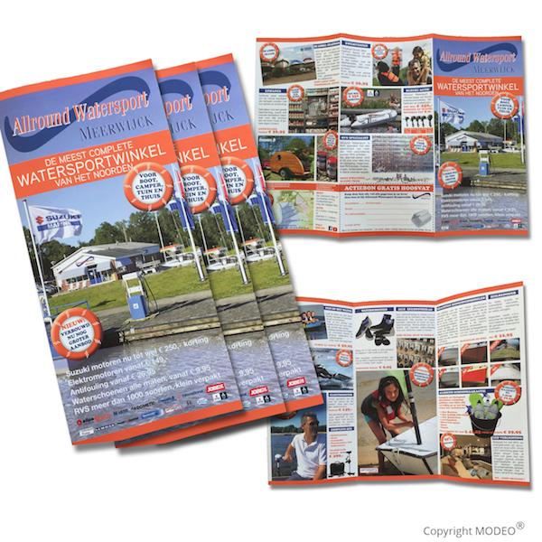 A3 huis aan huis folder_flyer_MODEO