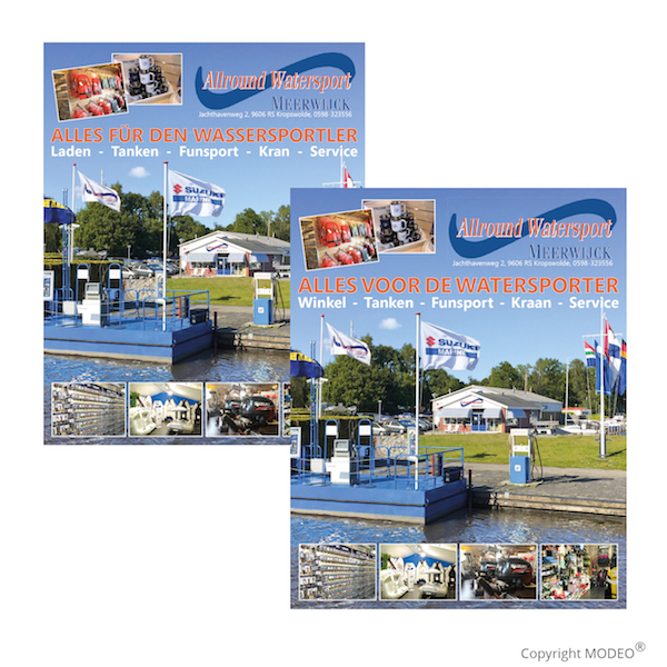 Advertentie Allround Watersport_MODEO
