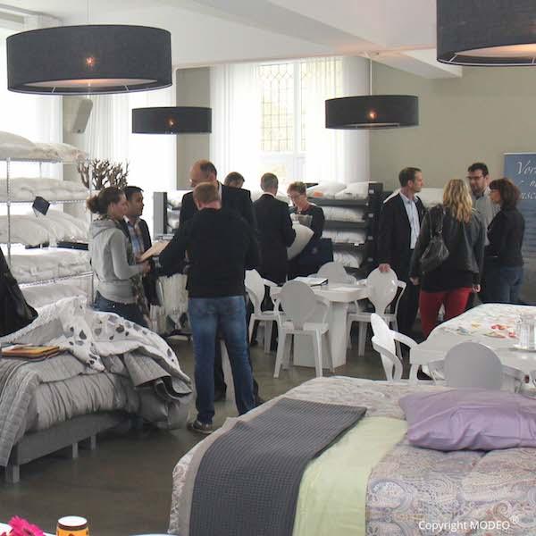 Hollandsch Slapen vakbeurs georganiseerd door MODEO