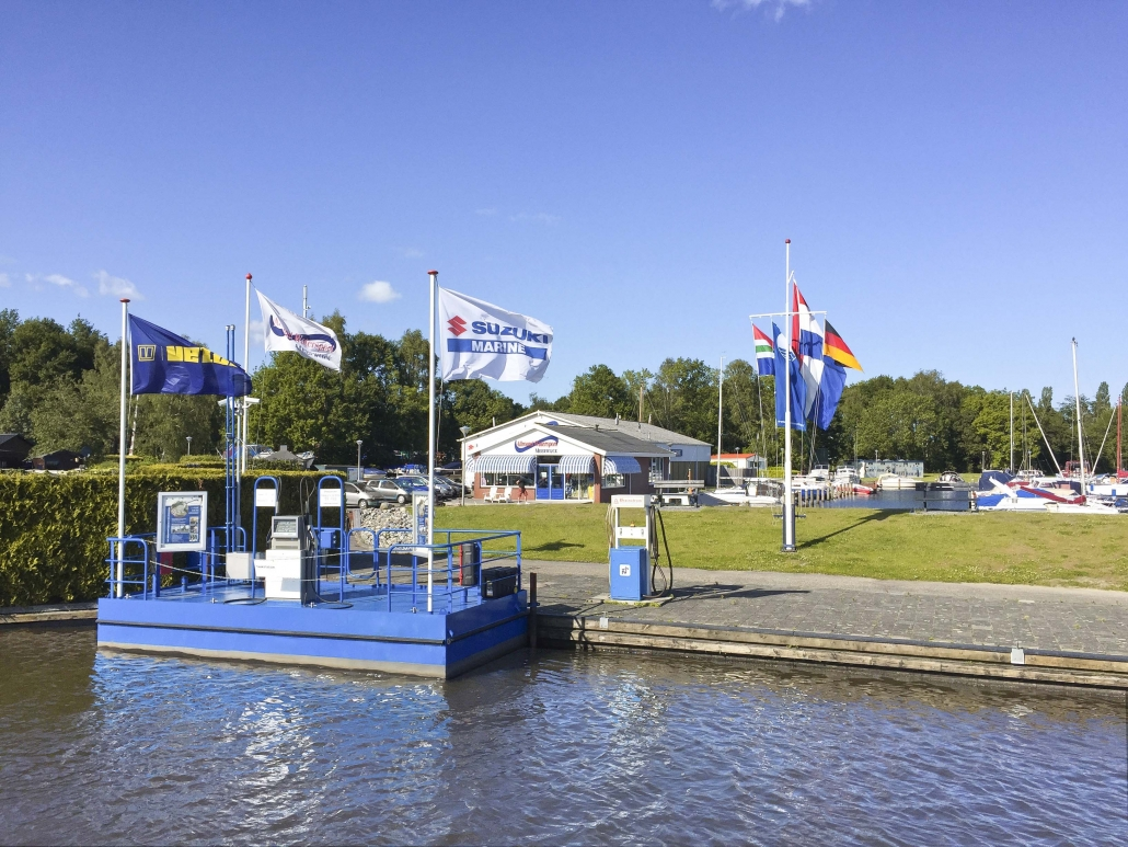 Tankstation en Jachthaven Allround Watersport_MODEO