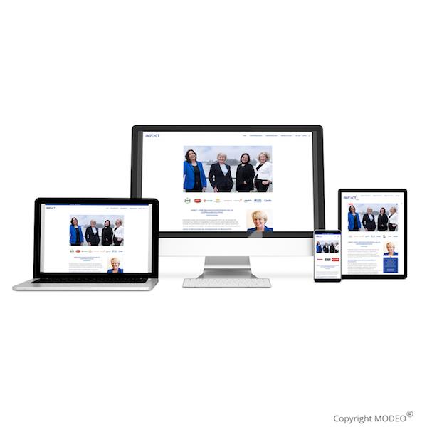 Website ontwerp en content door MODEO